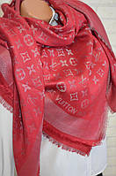 Платок женский Louis Vuitton с люрексом