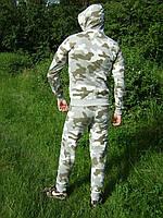 Мужской трикотажный спортивный костюм NIKE хаки милитари камуфляж