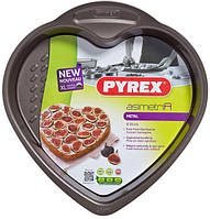 Форма PYREX  26 см /для запекания/сердце/метал (AS26HA0)