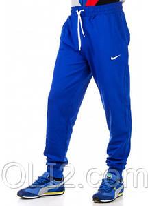 Спортивные брюки мужские NIKE на манжет теплые