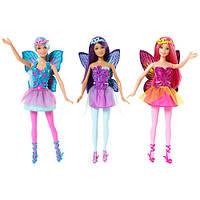 """Кукла Barbie """"Фея"""" серии """"Сочетай и смешивай"""" (Коллекция 2015) в ас.(3) CFF32"""