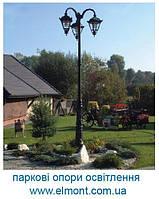 Парковые опоры освещения ROSA