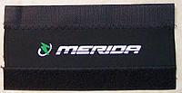Неопреновая защита пера велосипеда от цепи (9 брендов / 3 цвета) MERIDA