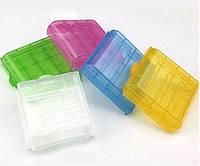Защитный футляр / бокс / кейс / контейнер для хранения аккумуляторов / батареек AA / AAA / 14500