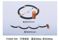 Велозамок / замок для мото противоугонный секционный ленточный TONYON TY3869 под ключ (четыре секции) TY3869-300