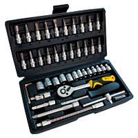 Набор ручных инструментов 46 шт Сталь (70014)