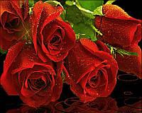 """Набор алмазной вышивки (мозаики) """"Алые розы"""""""
