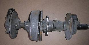 Вал с дисками СЗГ (автомат) под цепь 31.75 СЗ