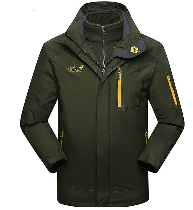 Мужская куртка 3 в 1 JACK WOLFSKIN. Куртки спортивные. Зимние куртки мужские.  Демисизонная bbd4cd003c1
