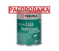 Краска для влажных помещений TIKKURILA LUJA  - ТИККУРИЛА ЛУЯ интерьерная, полуматовая, С, 0.9л