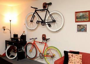 Крепления велосипеда на стену / потолок