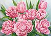 """Схема для вышивки бисером """"Цветы"""", А3"""