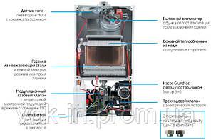 Газовий котел Baxi ECO 4s 24 (Одноконтурний+димар), фото 2