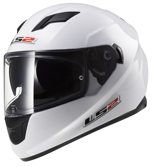 Мотошлем LS2 FF320 SOLID white
