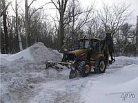 Уборка снега Аренда экскаватора-погрузчика JCB-3CX.