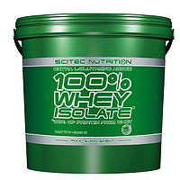 100% Whey Isolate Scitec Nutrition, 4000 грамм