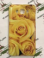 Чехол для Samsung j710 galaxy j7 2016 Желтые розы