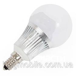 Светодиодная (LED) лампочка MiLight RGBW 5 Вт, теплый белый, E14
