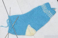 Как вязать носки детские?
