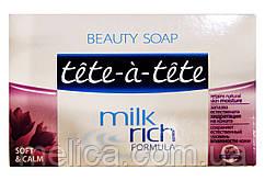 Мыло Tete-a-tete Milk rich formula Soft & Calm - 100 г.