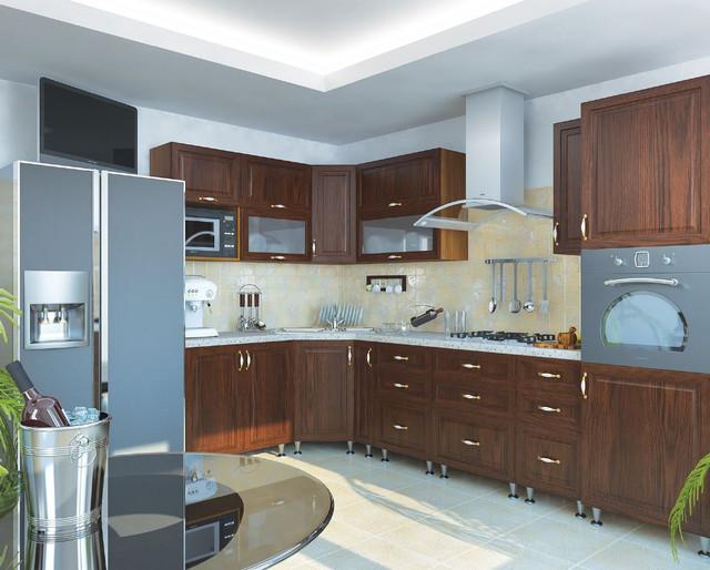 Кухня София Классик (цвет каштан, фото 2)