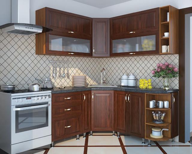Кухня София Классик (цвет каштан, фото 3)