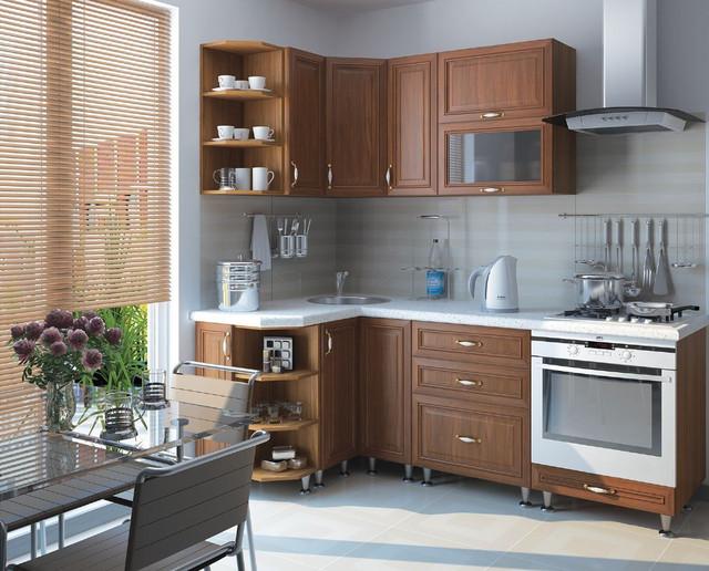 Кухня София Классик (цвет орех, фото 4)