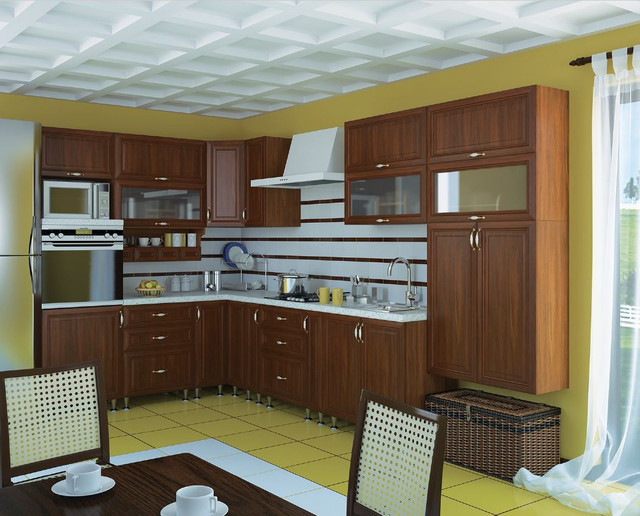 Кухня София Классик (цвет орех, фото 5)