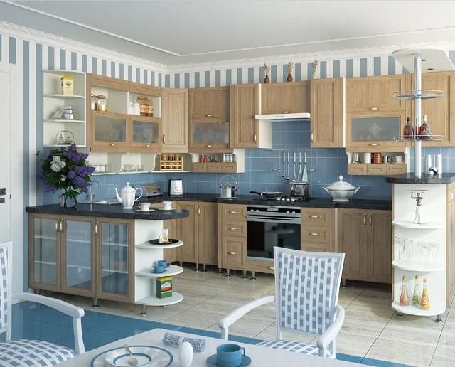 Кухня София Классик (цвет светлая вязь, фото 4)