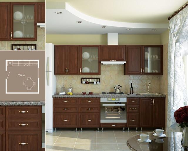 Кухня София Классик (цвет орех, фото 2)