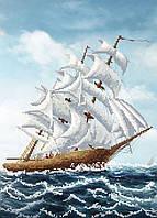 """Схема для вышивки бисером """"Корабль"""", А3"""