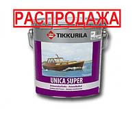 Лак алкид-уретановый TIKKURILA UNICA SUPER яхтовый, глянцевый, 2,7л