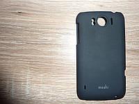 Чехол накладка для телефона HTC Sensation XL Moshi черный