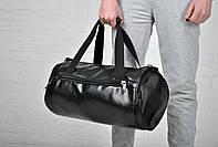 Сумка спортивная, модная, классическая, эко кожа/ new / Black /