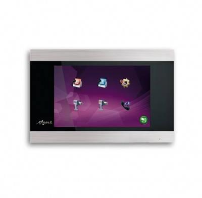 Цветной видеодомофон Myers M-75SD Touch Silver
