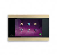 Цветной видеодомофон Myers M-75SD Touch Gold