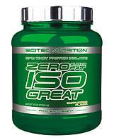 Zero Isogreat Scitec Nutrition, 900 грамм