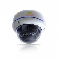 Купольная камера с фиксированным фокусом с ИК подсветкой IPD-4SP-IR POE