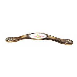 Ручка 128mm SELVI 5414-08/056 Бронза Тюльпан