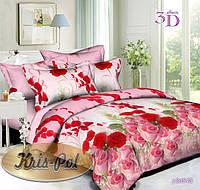 Комплект постельного белья семейный, ранфорс 100% хлопок. Постільна білизна сімейна. (арт.6601)