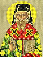 Схема для вышивки бисером Св. Дионисий, 7х9 см
