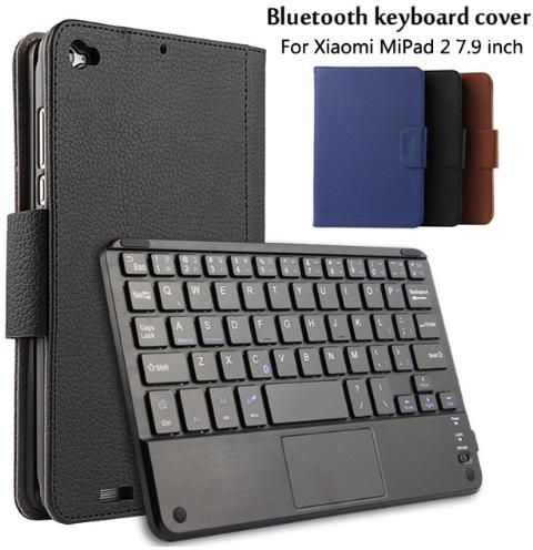 Чехол клавиатура Bluetooth магнитная для Xiaomi Mi Pad 2 7.9 черный