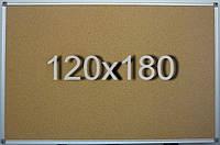 Пробковая доска 120х180 см, фото 1