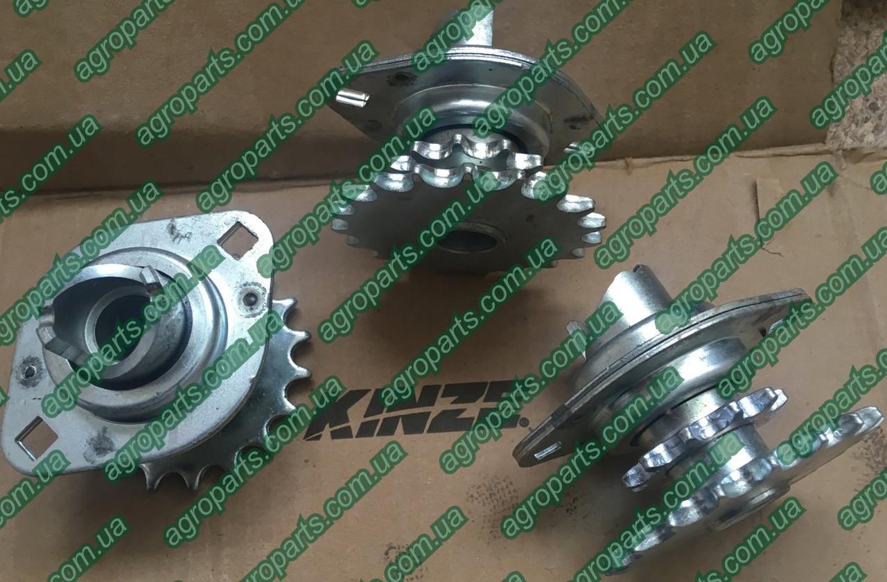 Звёздочка GA10137 KINZE Double Sprocket And Bearing, Drive Clutch z11/19 звездочки Kinze  HORSCH 00401884
