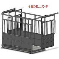 Весы для взвешивания животных 4BDU1500X…P  с раздвижной дверью