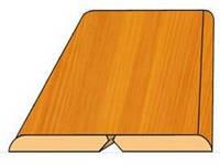 Гибкий угол (планка складная) 45х3,2мм Триумф ПВХ