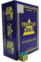 Мел для бильярда  TRIANGLE  (синий, 144 шт)