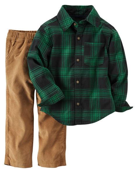 Рубашка с брюками на мальчика 18 мес