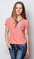 Блузка для женщины 1660/164/корал в наличии 164 р., также есть: 158,164, Mevis_ЦС