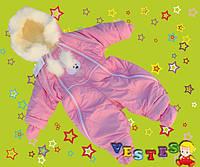 Комбинезон для девочки Ком-004/M/розовый в наличии M р., также есть: L,M, Vestes_ЦС
